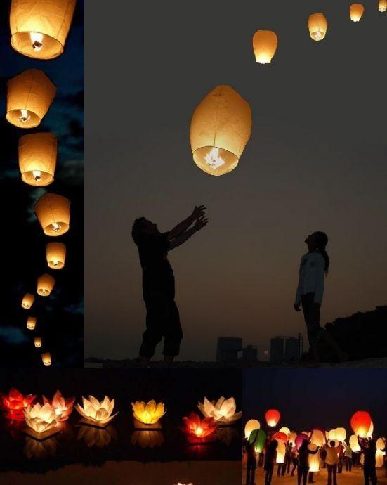 kívánság lámpás
